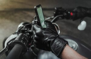 Liberta Cobra black Motorcycle Gloves