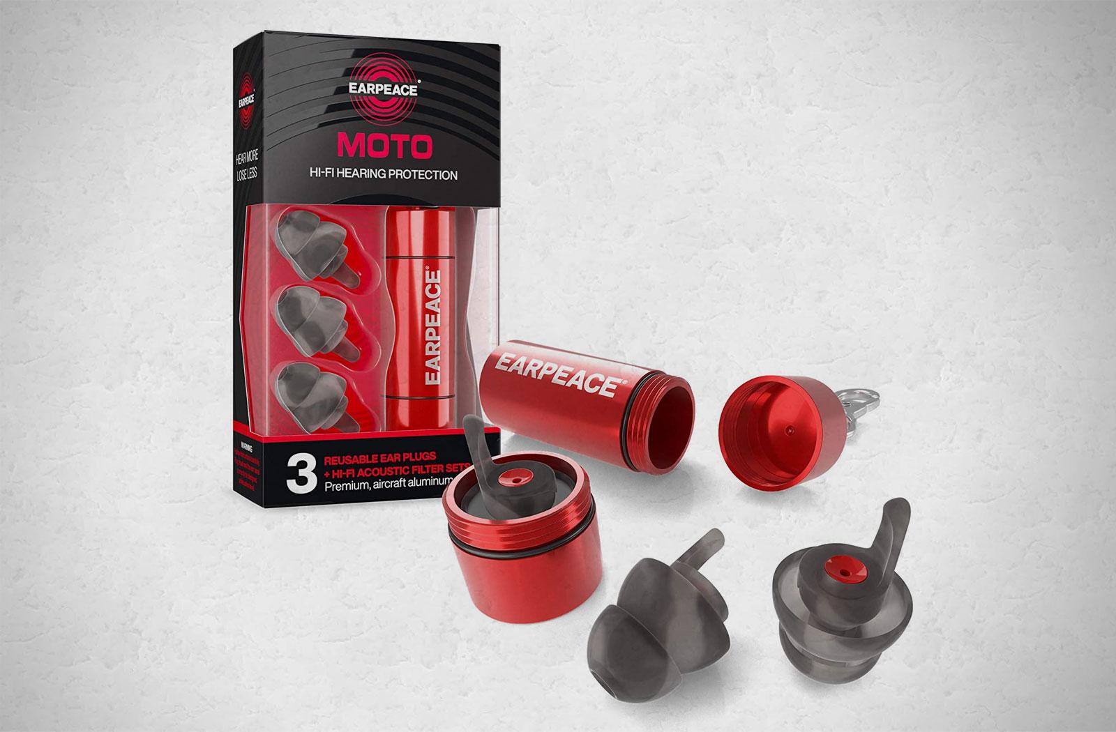 EarPeace motorcycle earplugs