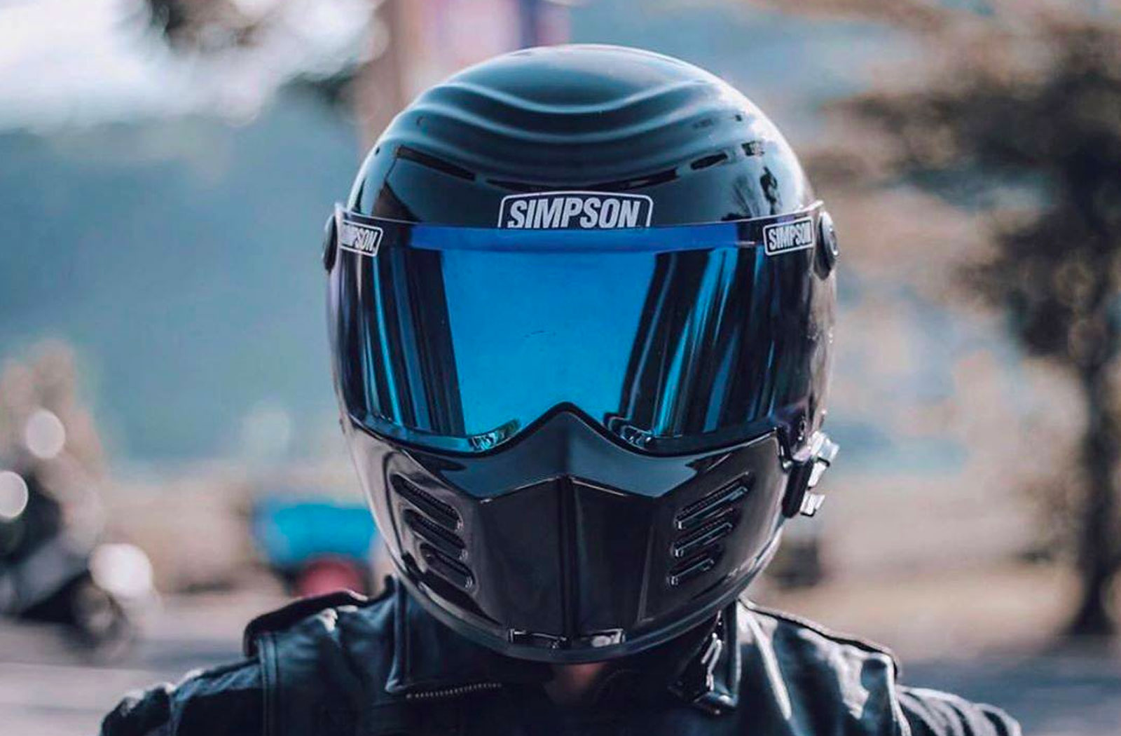 Simpson Outlaw Bandit Helmet