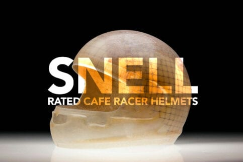 7 SNELL rated cafe racer helmets