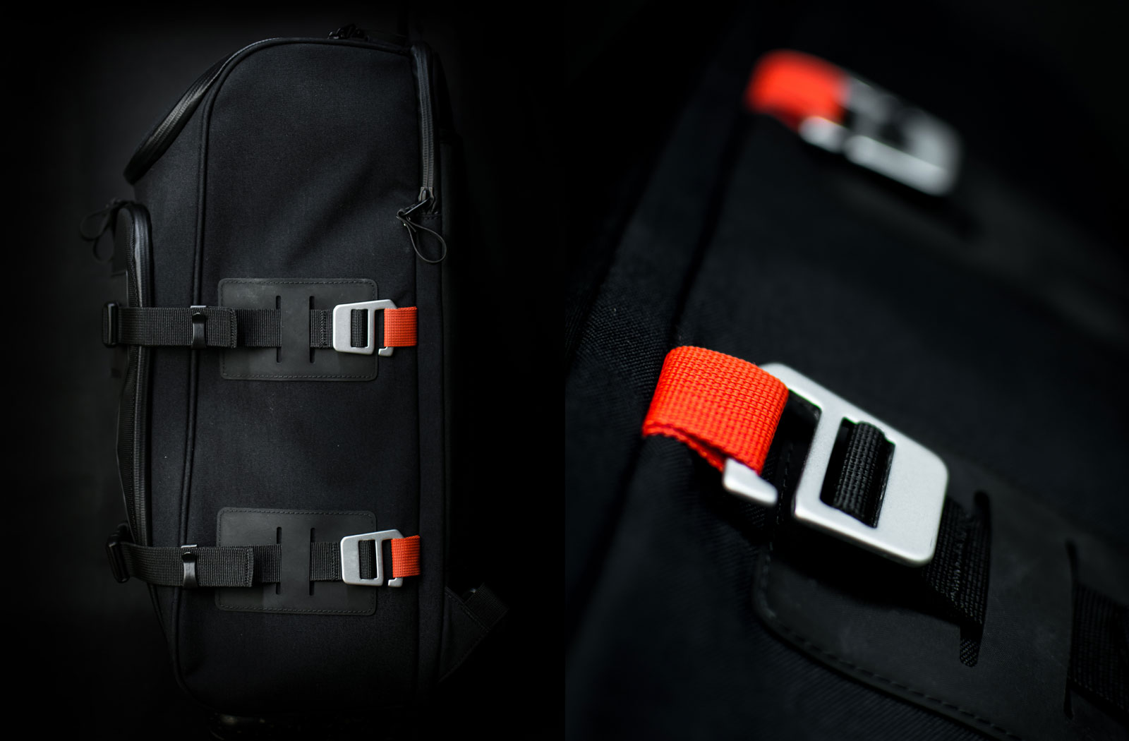 Closeup photo of Expedition backpack straps