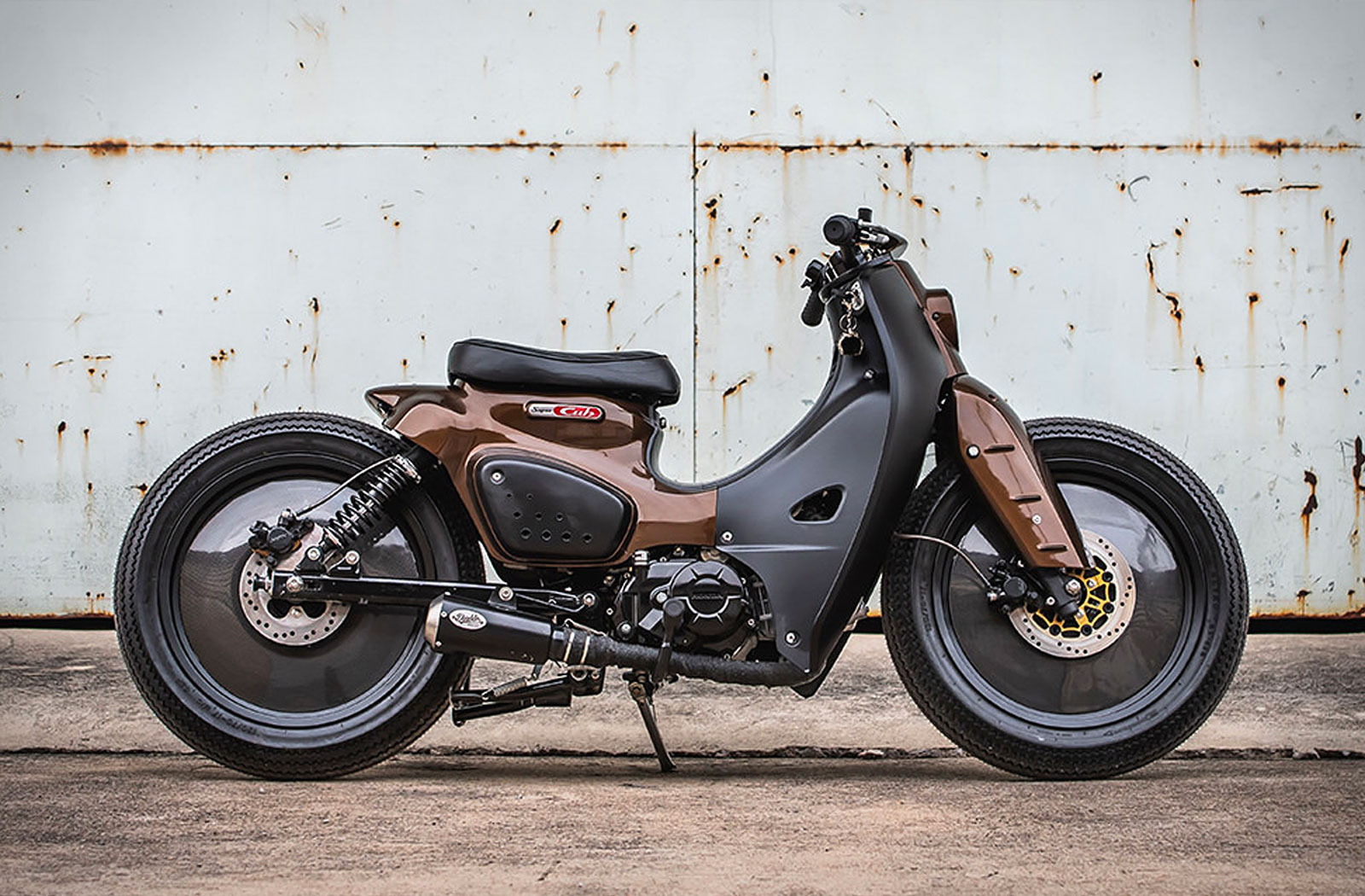 K-Speed custom Honda Super Cub