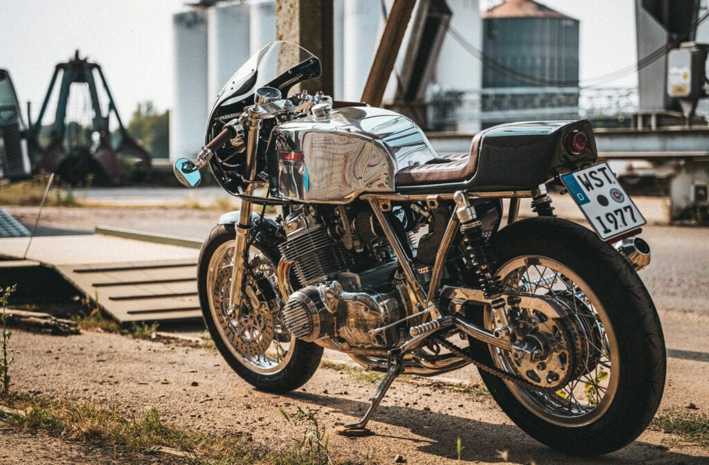 Seeley CB750 cafe racer