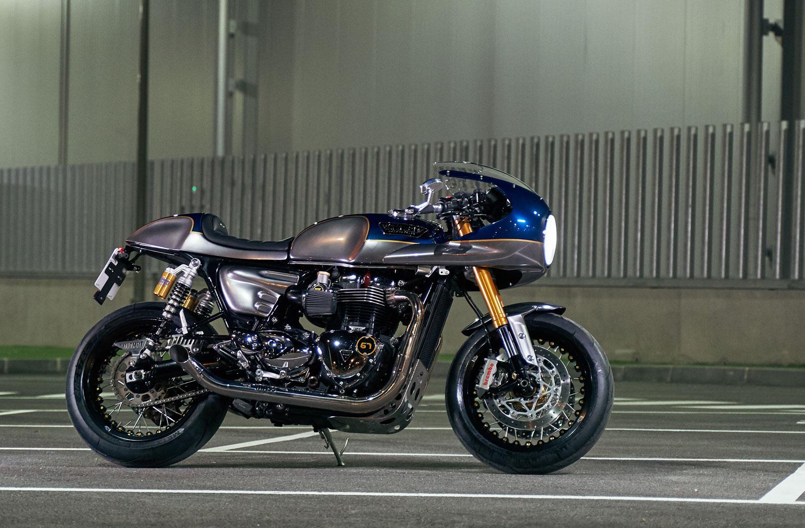 Custom Triumph Thruxton R