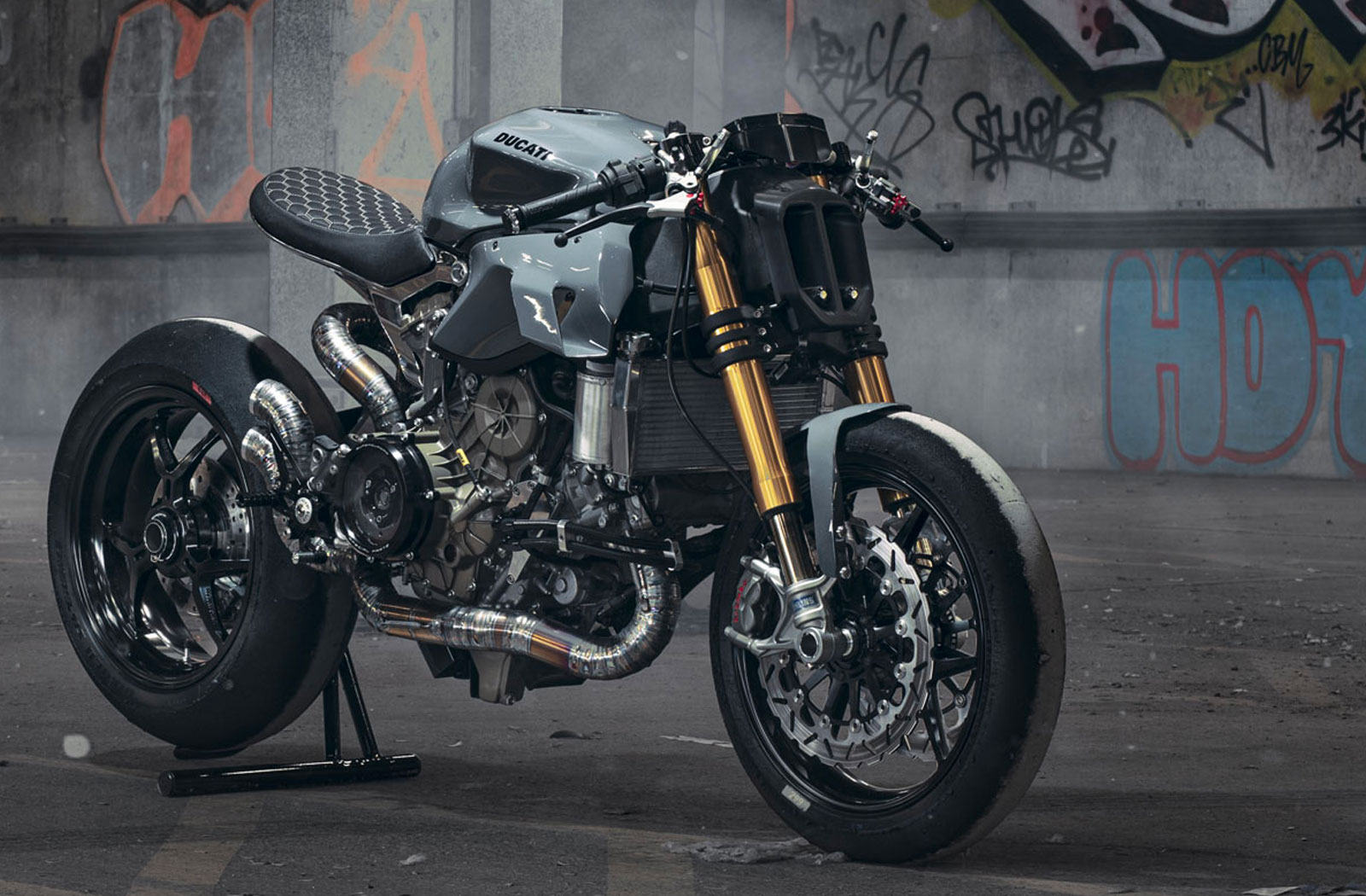 Thornton Hundred Motorcycles custom Ducati Panigale 1299