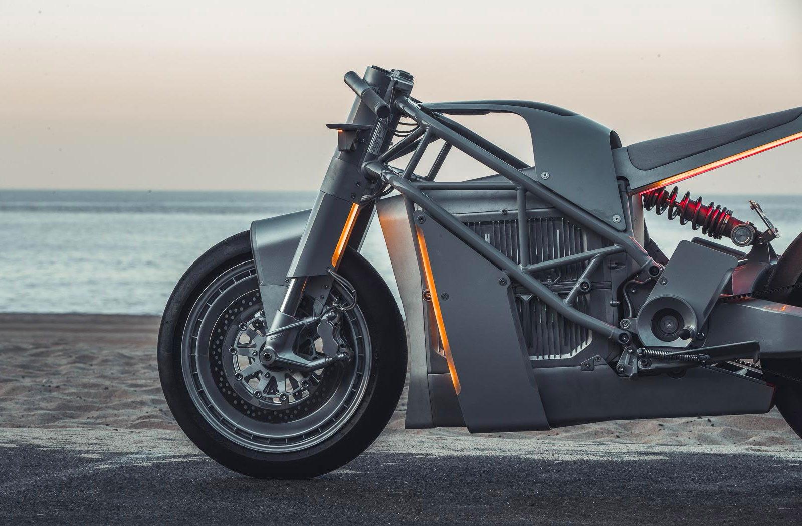 Untitled Motorcycles Zero MC electric motorcycle