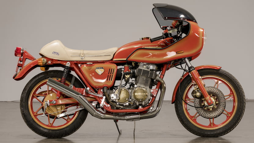 1970 Honda CB750 Sandcast Cafe Racer