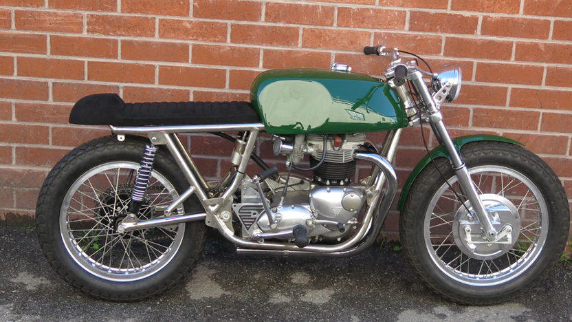 1970 Rickman Triumph Cafe 650 Side View
