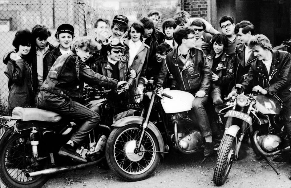 Cafe Racers London 1959