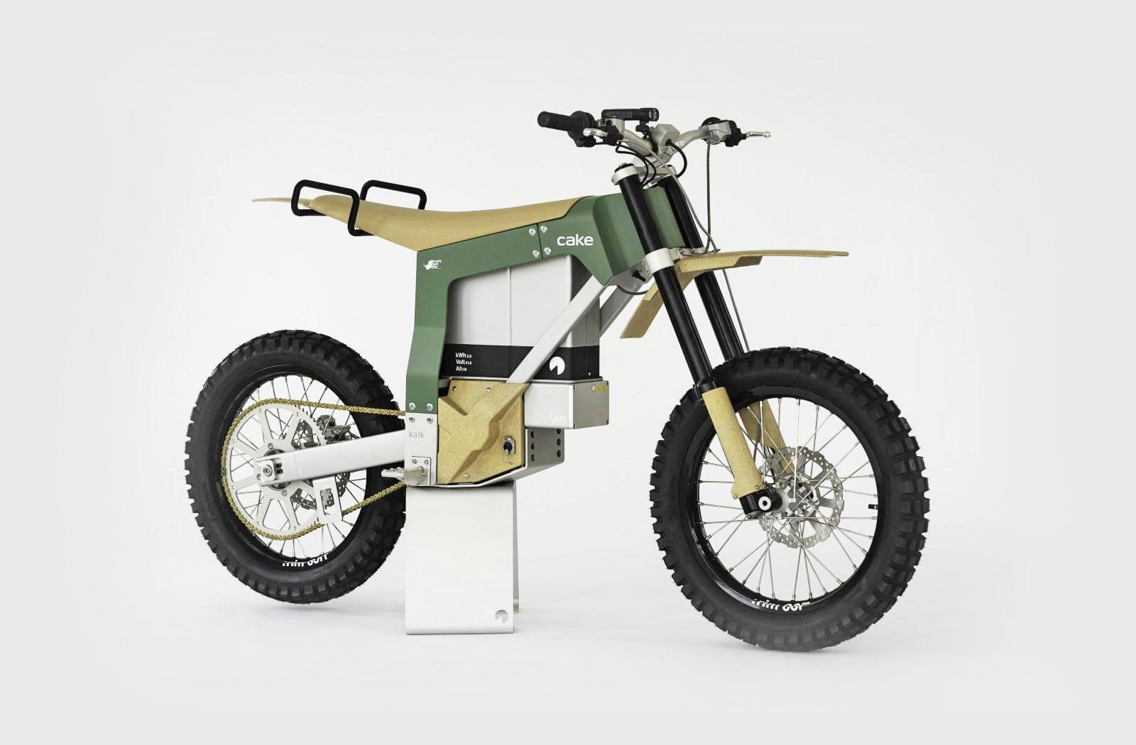 Cake Kalk AP anti-poaching electric motorcycle