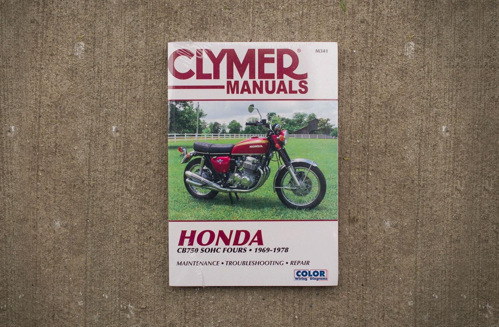 Clymer Manuals Honda CB750 workshop manual