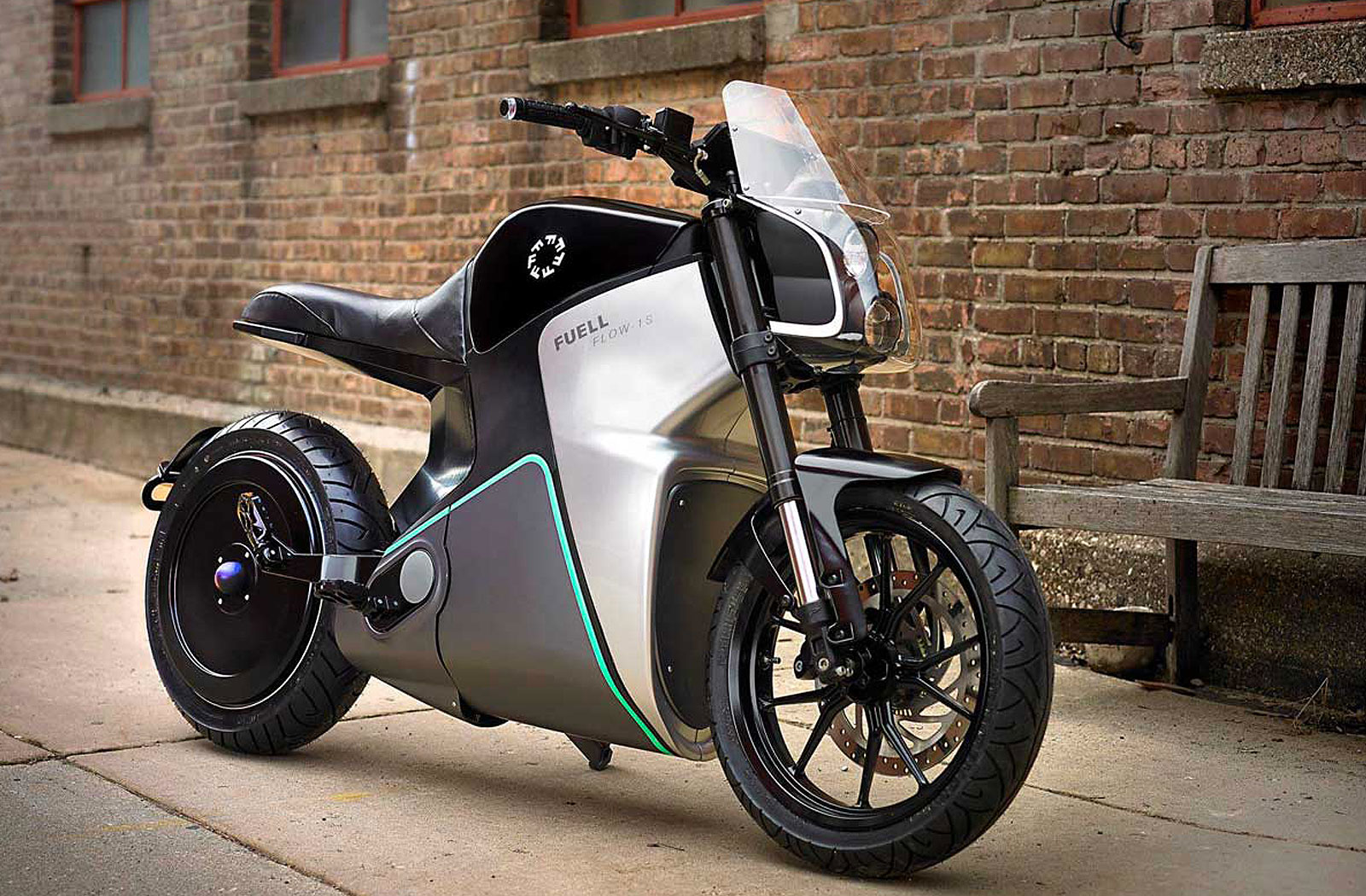 Erik Buell's Fuell Fllow electric motorcycle