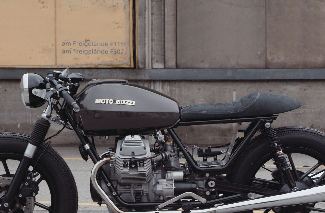 Horizontal Moto Guzzi V50