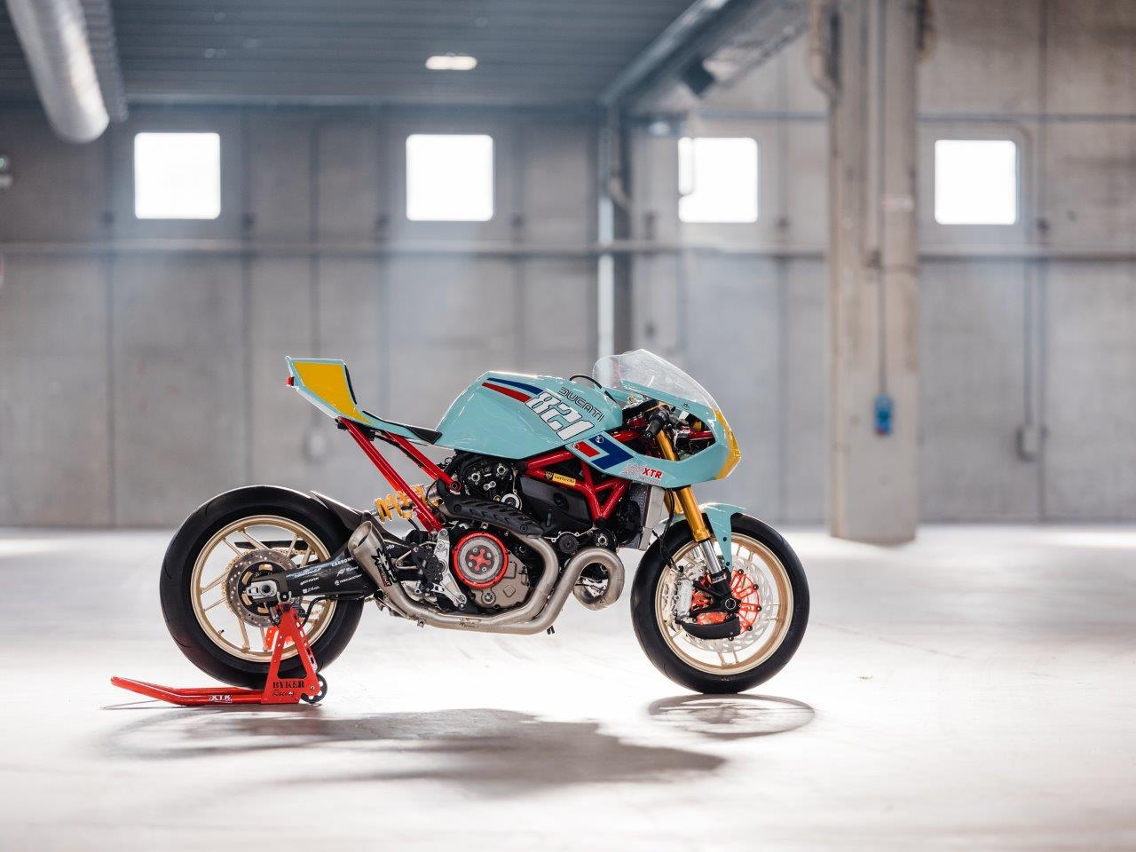 Ducati Race motorcycle from Spain's XTR Pepo