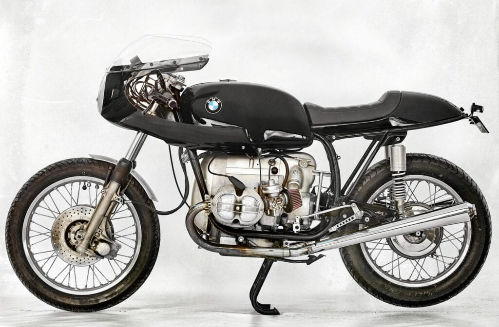 BMW R75 cafe racer