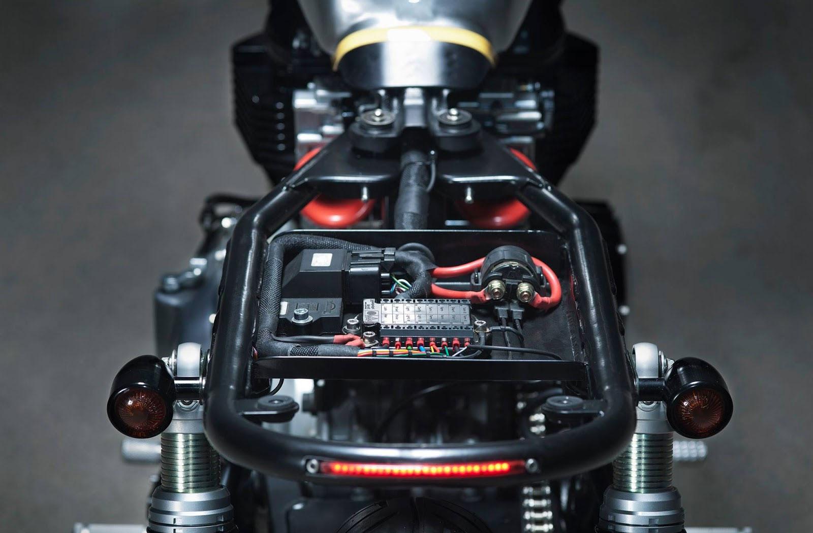 Kiddo Motors motorcycle wiring