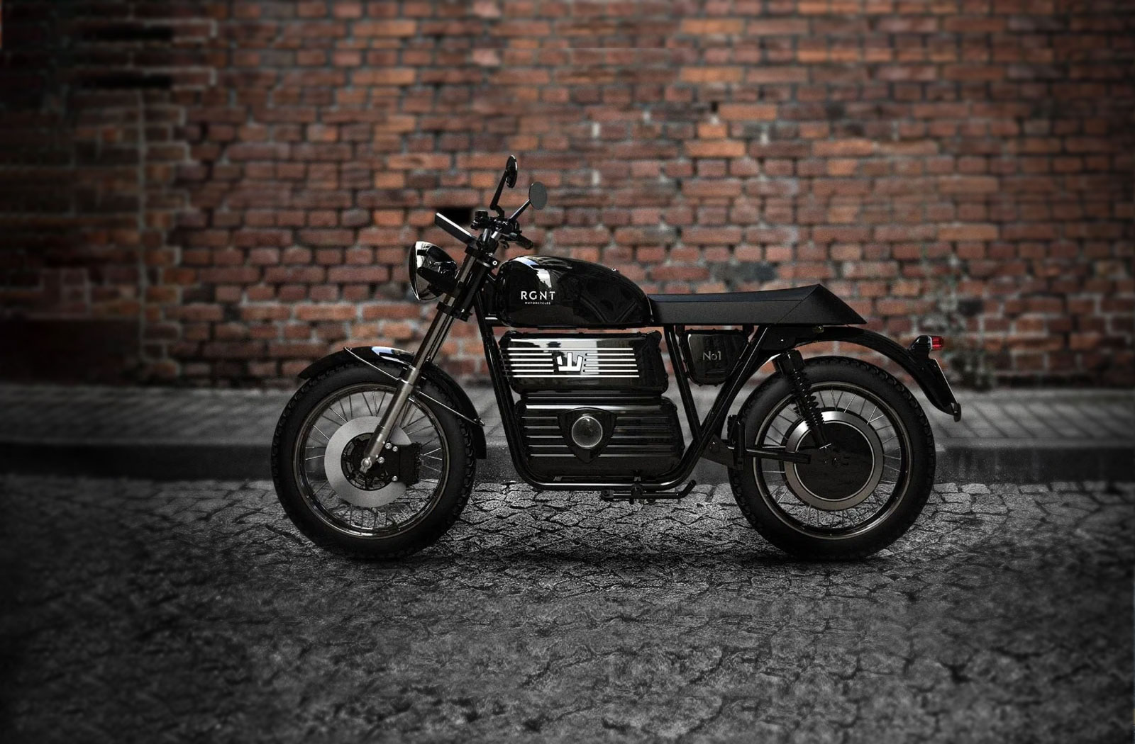 The RGNT No.1 Retro electric motorcycle