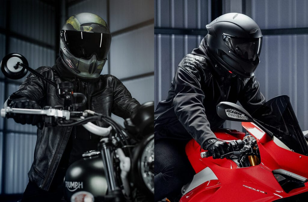 Atlas 3 motorcycle helmet
