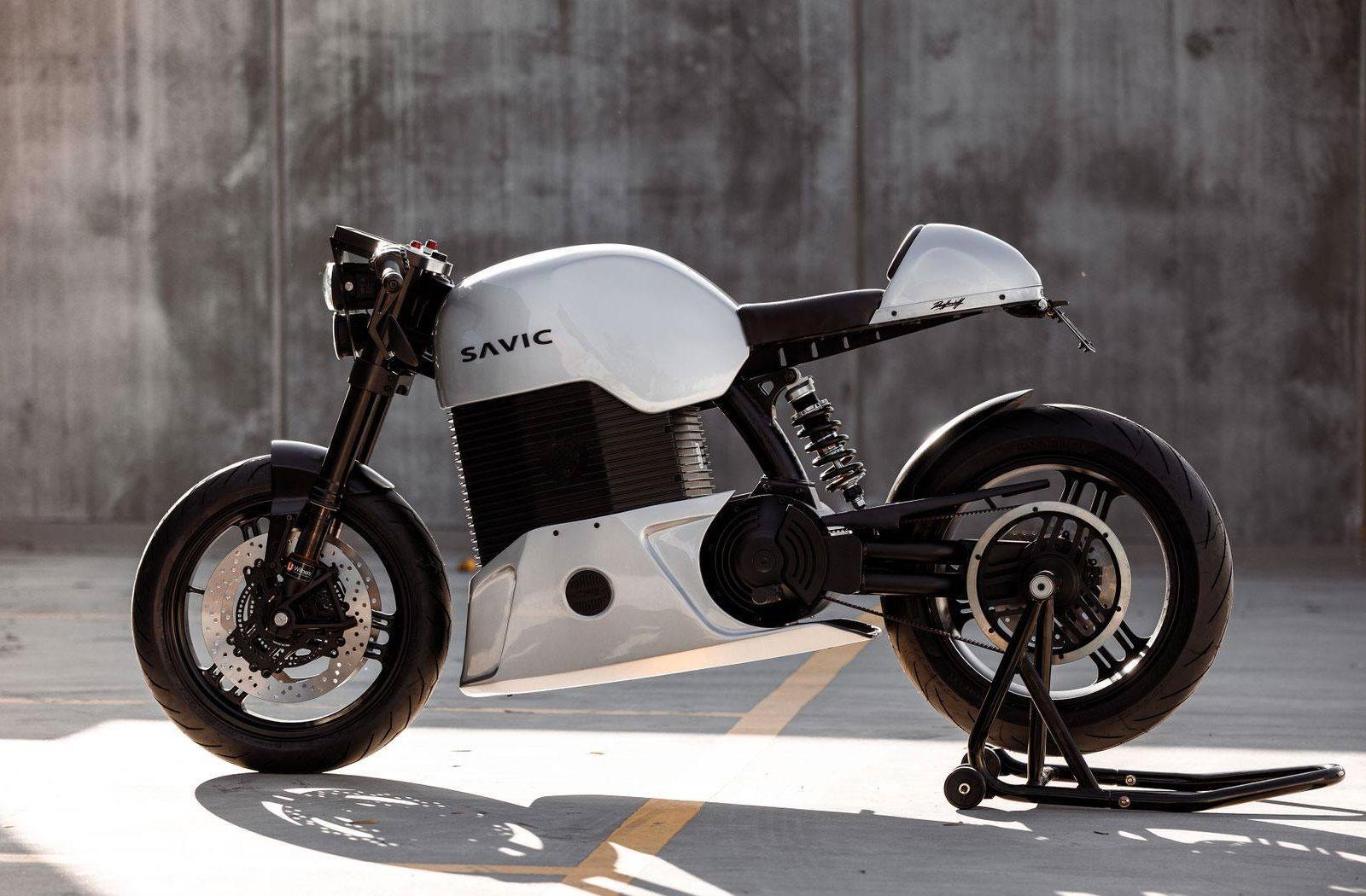 Savic Motorcycles electric cafe racer