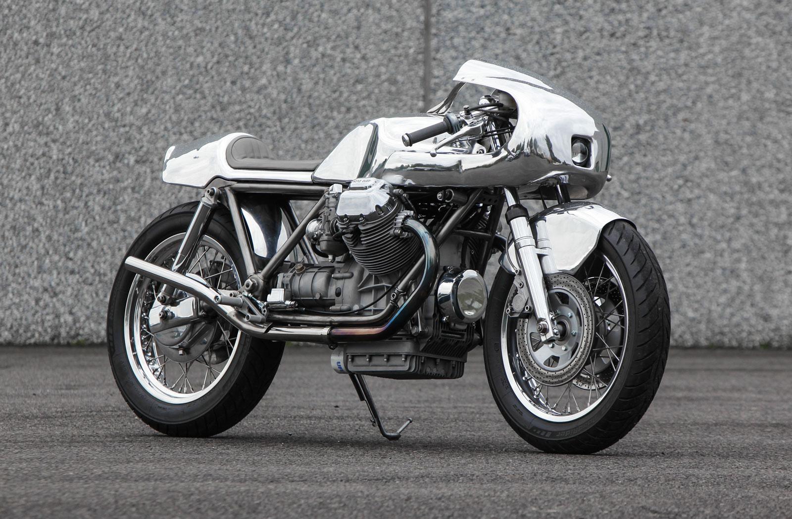 Moto Guzzi 1000SP cafe racer