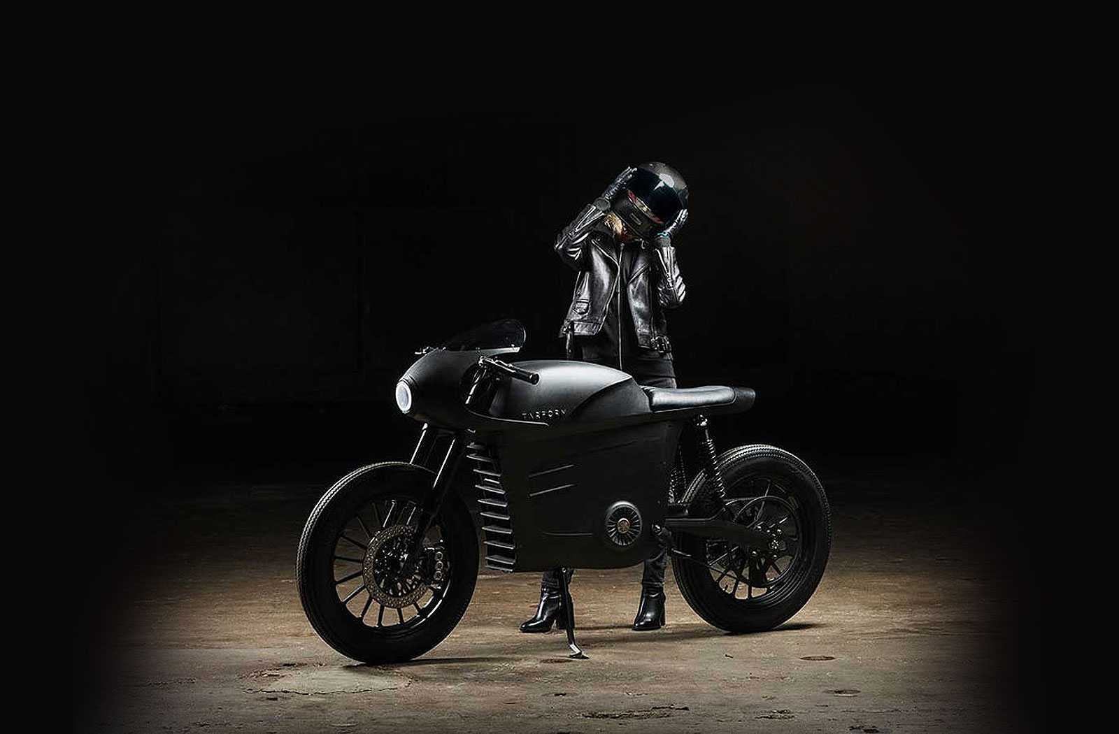 Tarform Racer Edition electric motorcycle