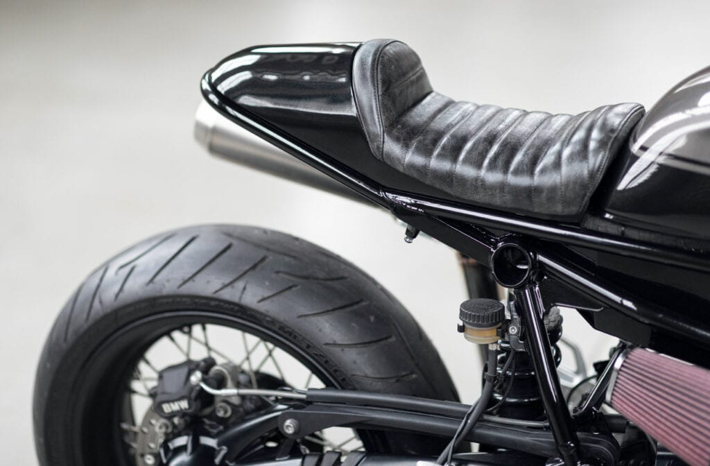 Gas and Oil R Nine T cafe racer