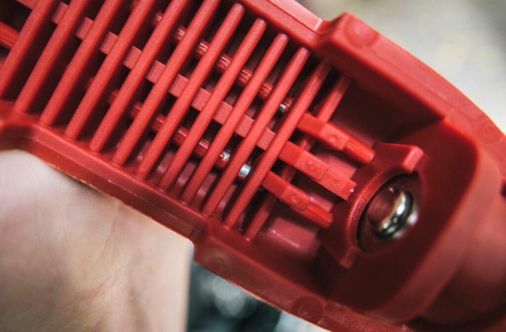 Grip-Lock motorcycle lock