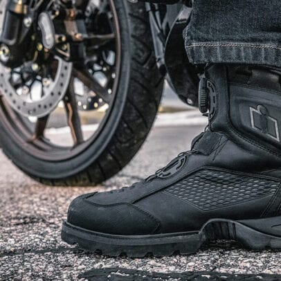 Icon 1000 Stormhawk boot