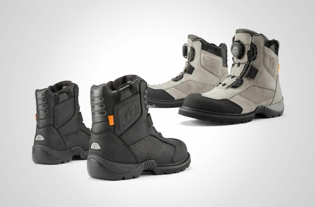 Icon 1000 Stormhawk boot