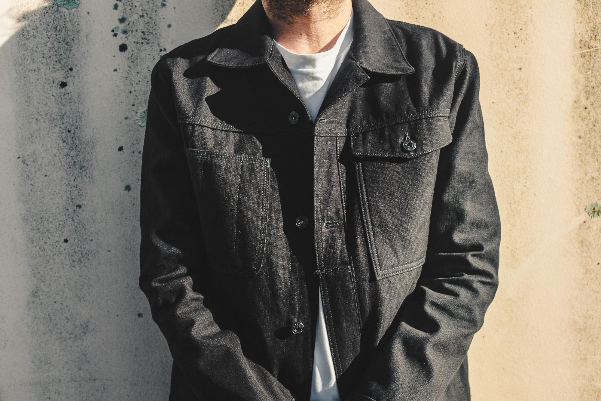 Earnest Co's 'Smiths' K-Canvas Jacket