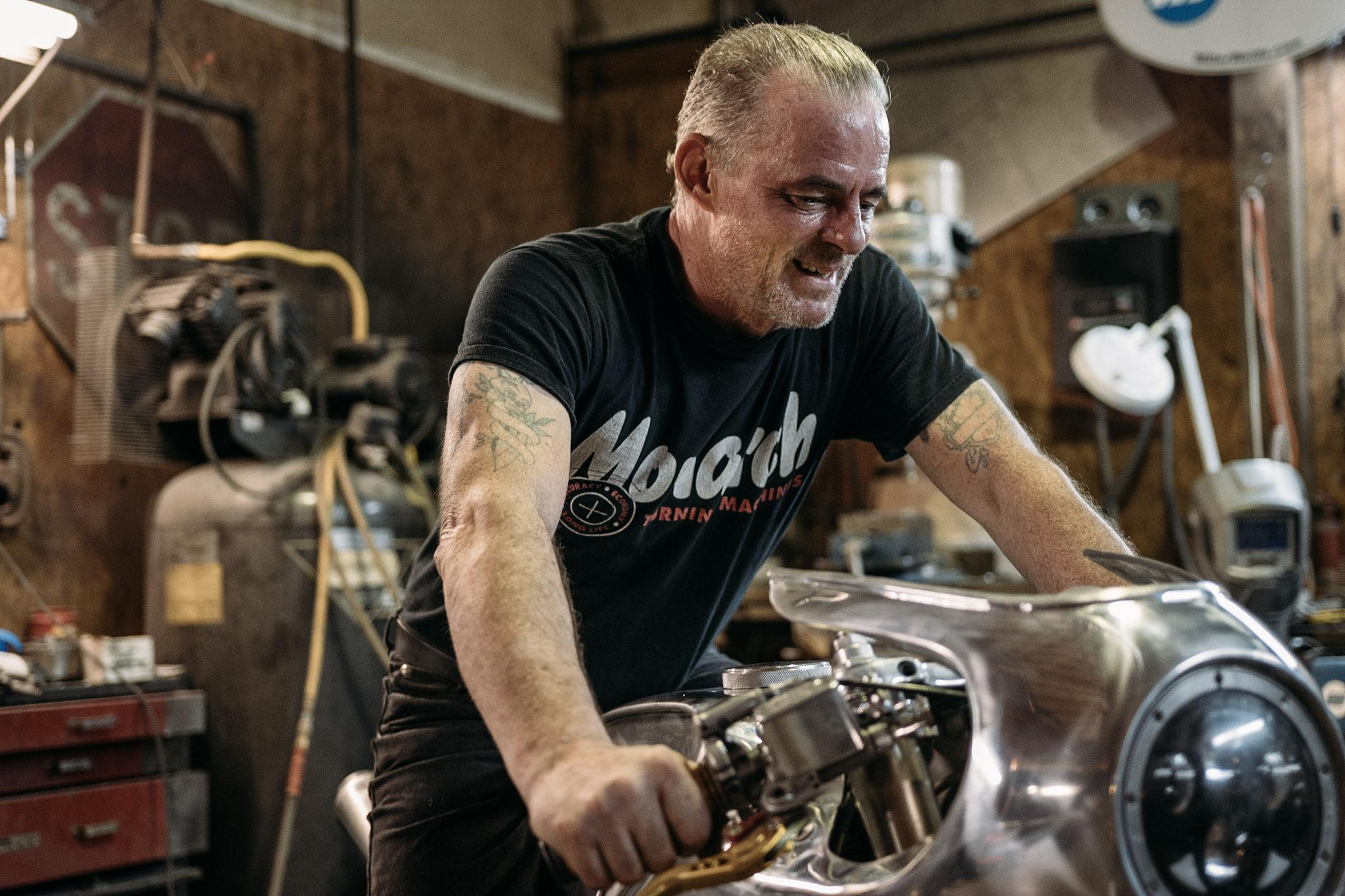 Aussie Custom Bike Builder, Craig Rodsmith