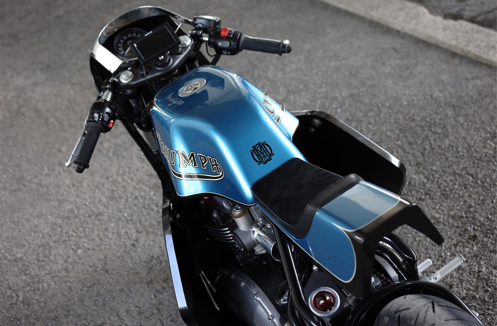 Hide Motorcycles Japan Triumph Bobber Cafe Racer