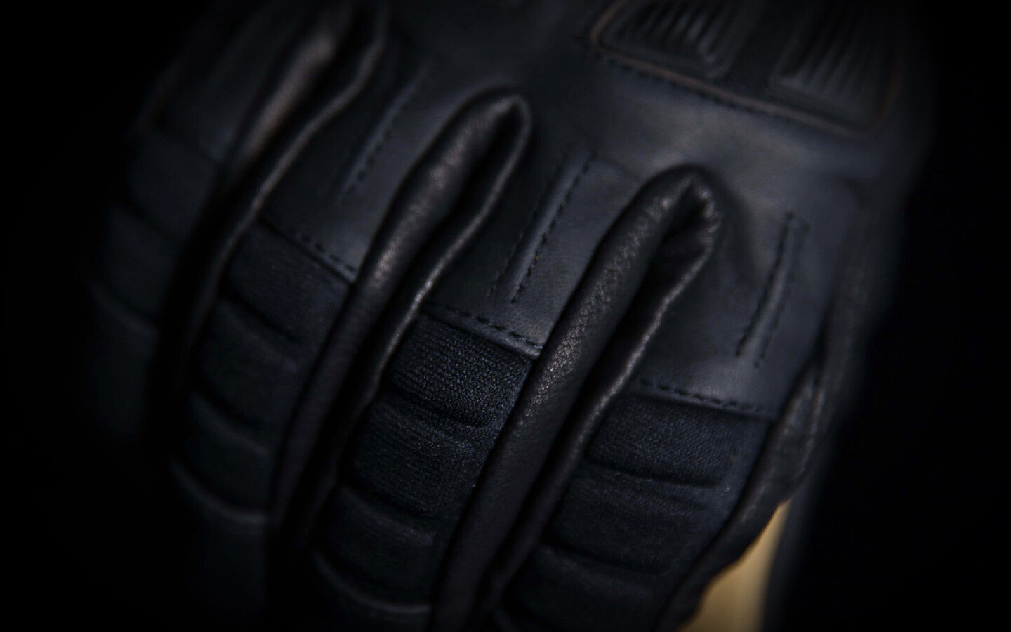 Icon 1000 Axys Gloves detail shot