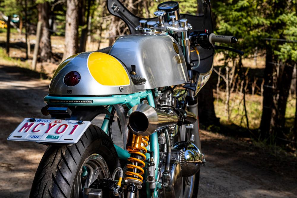 Stu Lloyd Yamaha SR400