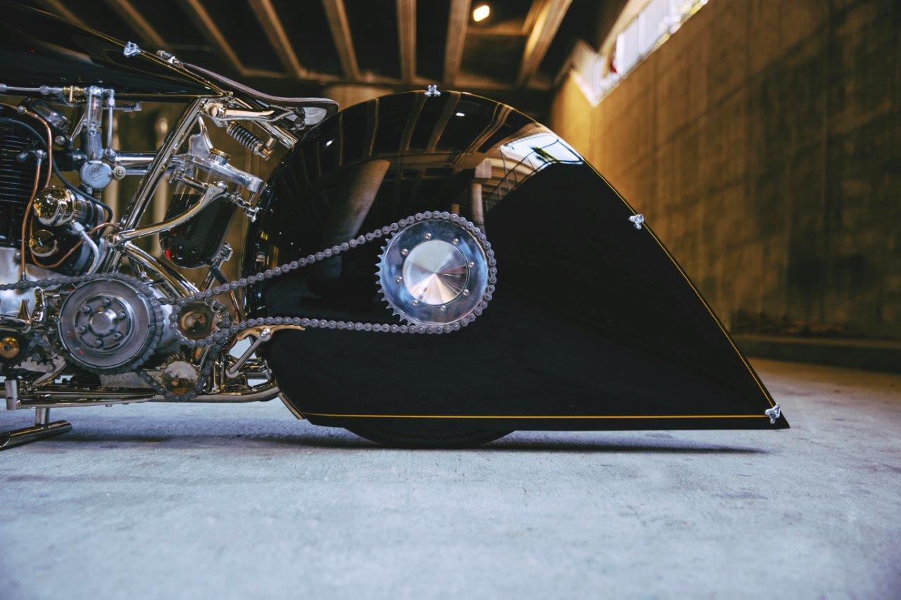 Max Hazan's custom BSA 500 Motorcycle