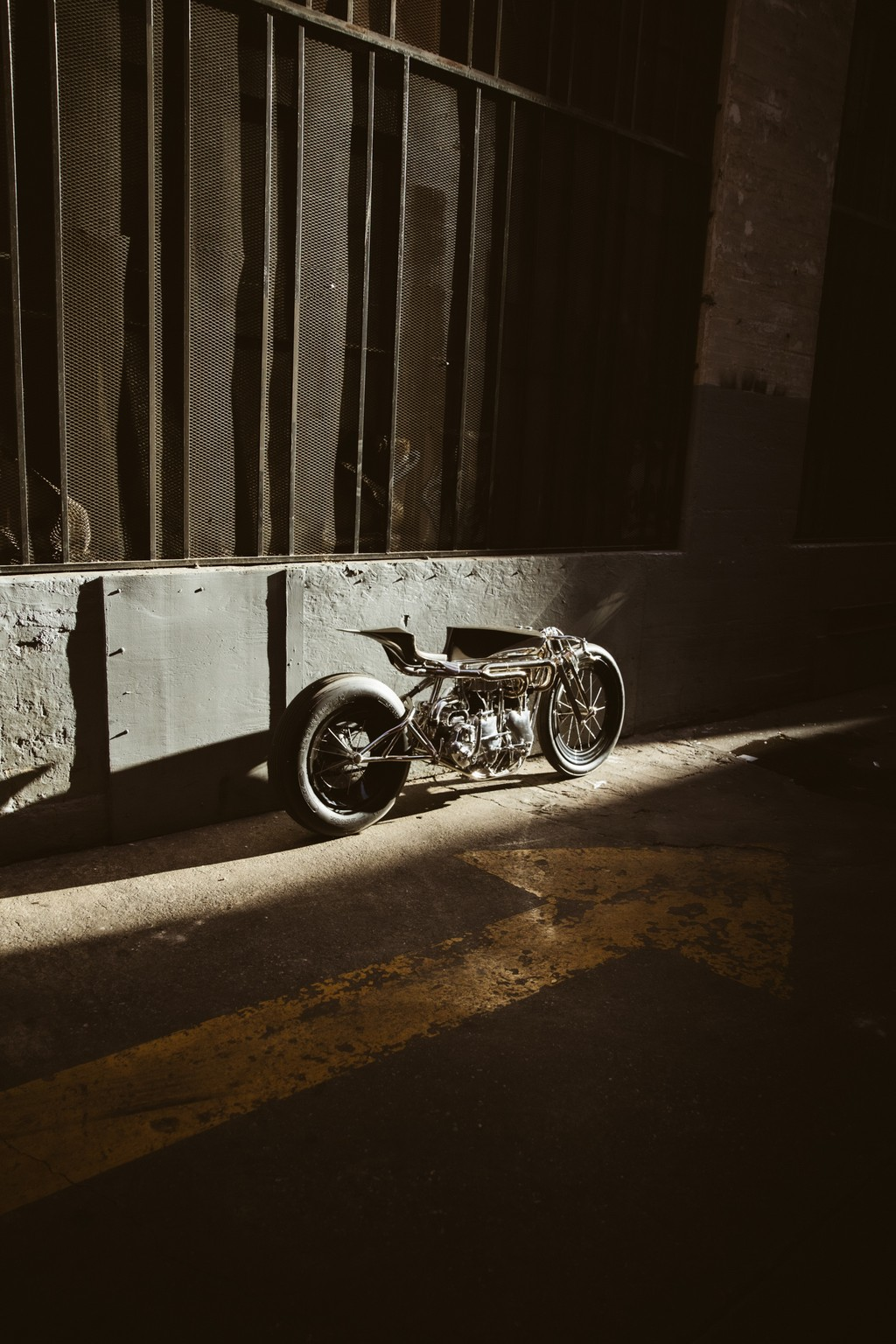 Max Hazan's Twin-engined Velocette motorcycle