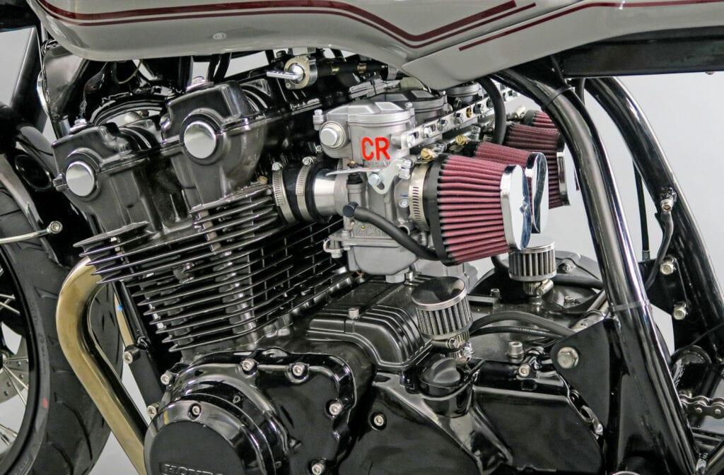 CR carbs on a Honda CB750