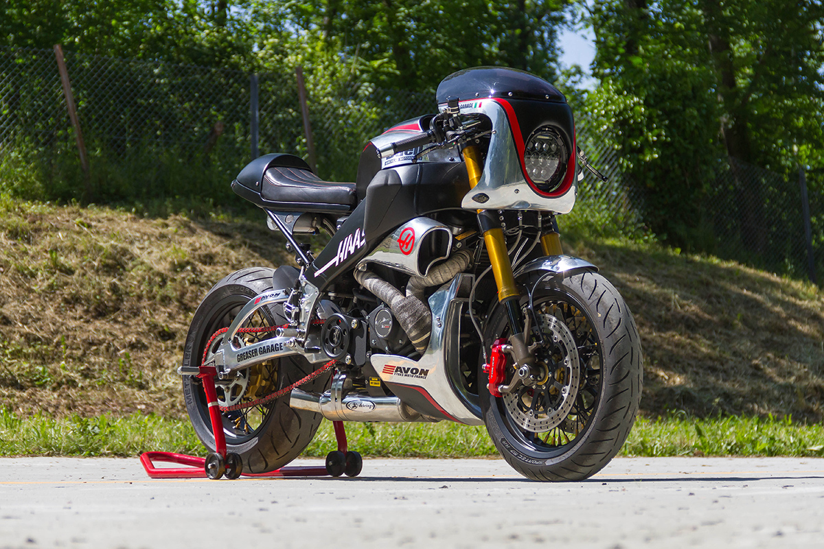 Greaser Garage Buell XB12SS cafe racer