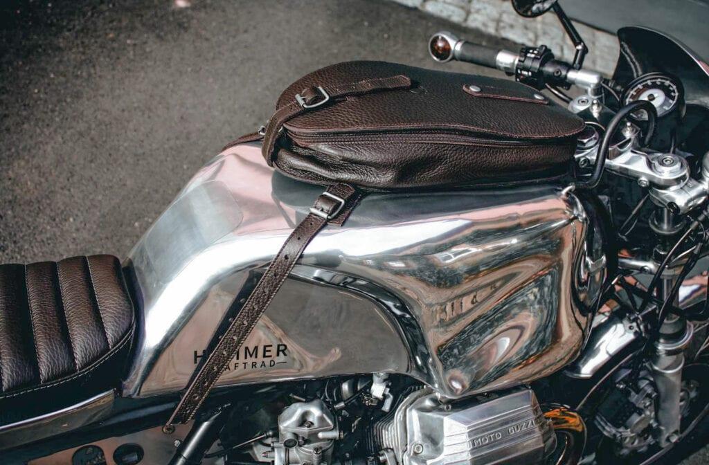 Hammer Kraftrad leather tank bags