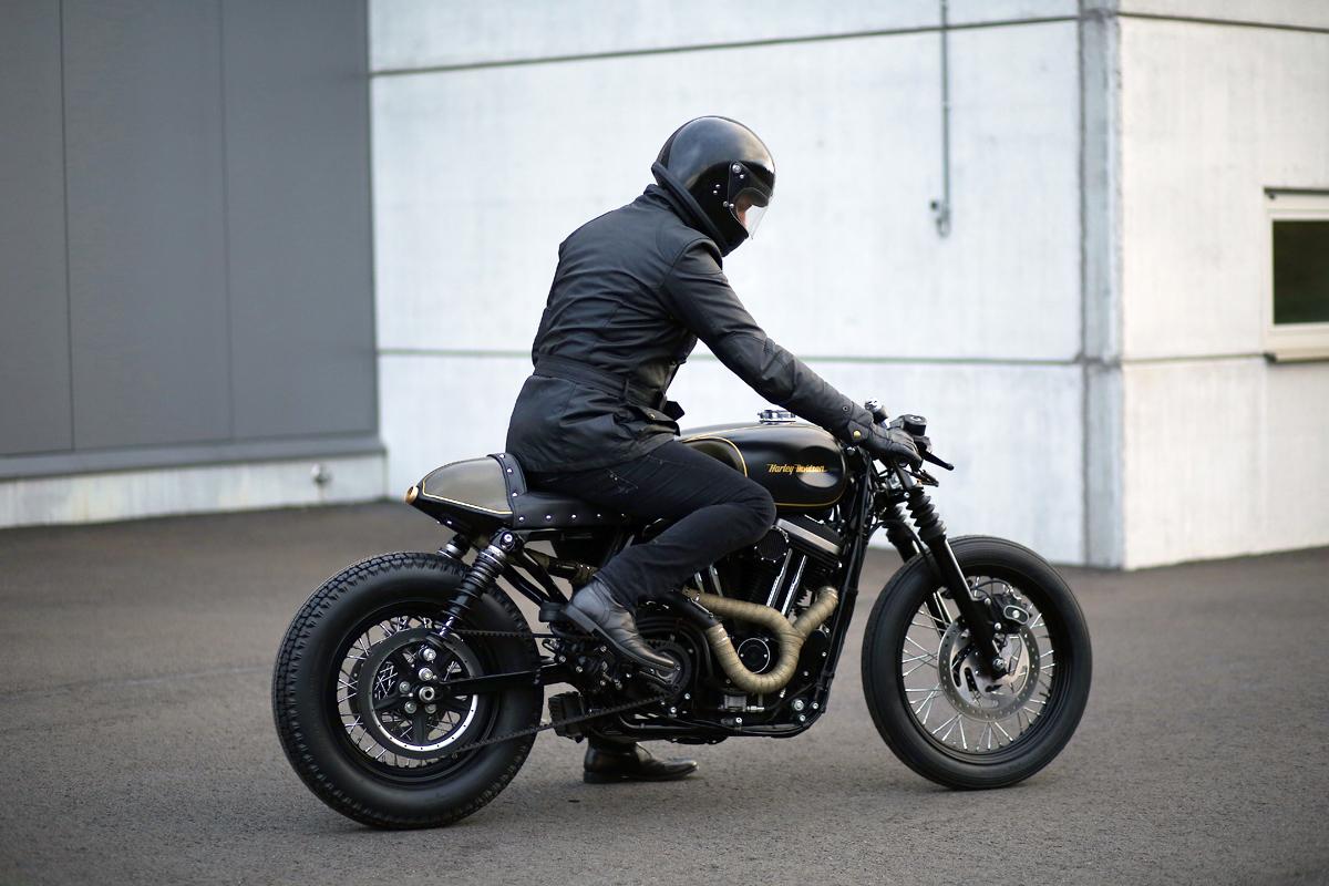 Zadig Harley Sportster Cafe