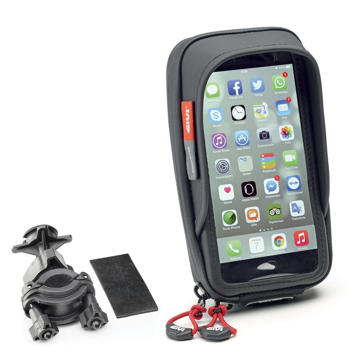 Givi S957B Motorcycle Smartphone Mount