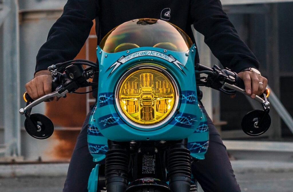 motorcyclesaveslives.org Kawasaki W800 cafe racer