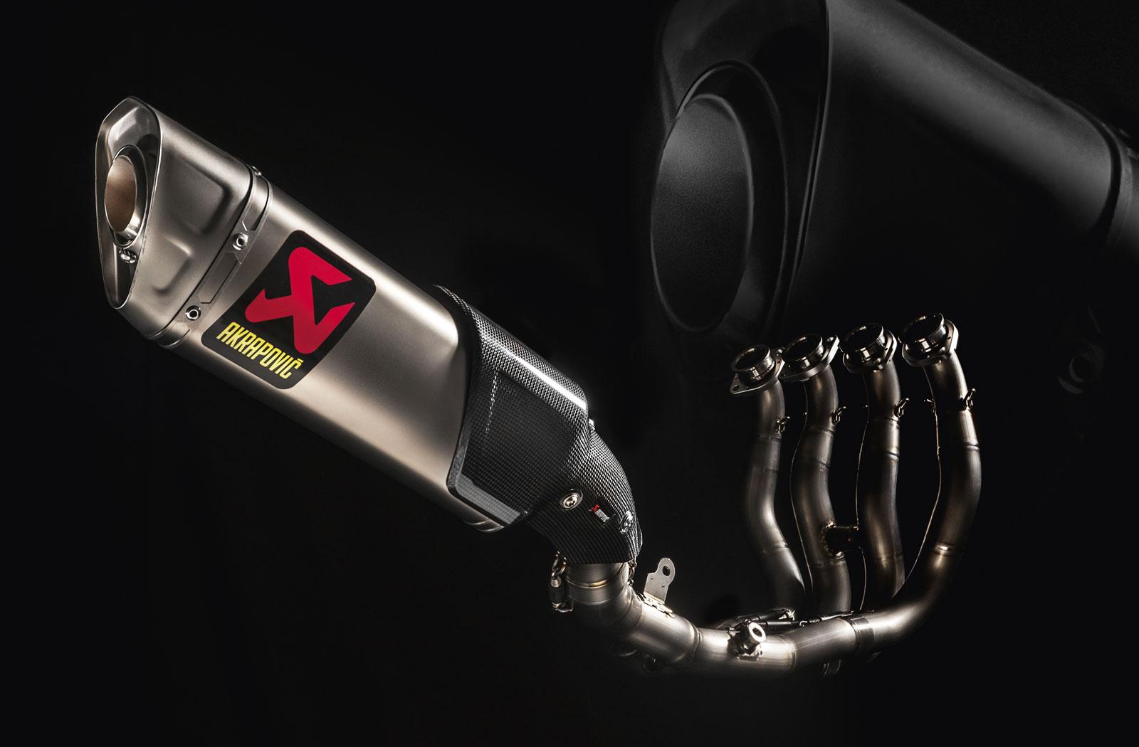 Akrapovic performance exhaust system