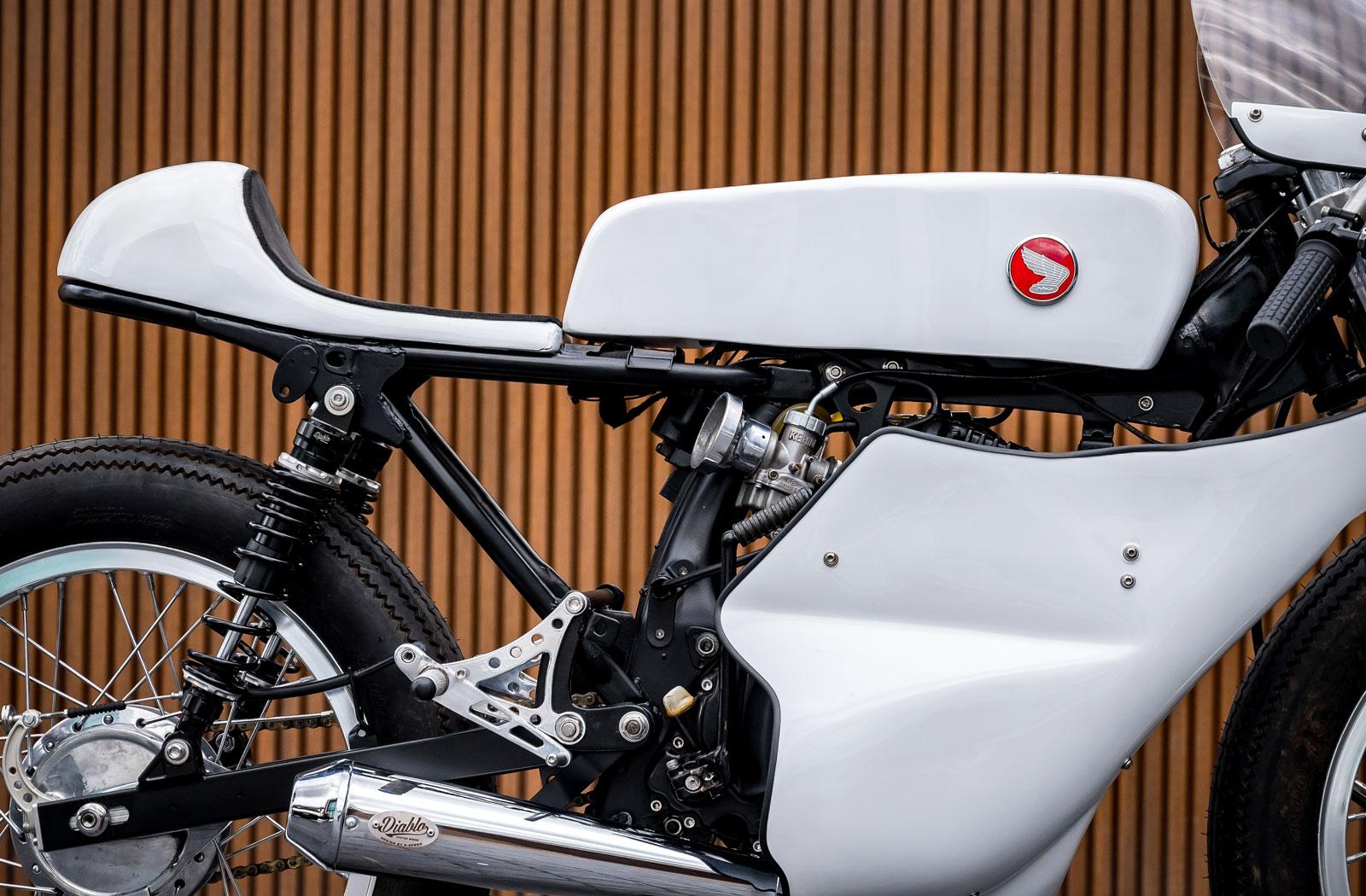K-Speed Honda 125 racing fairing
