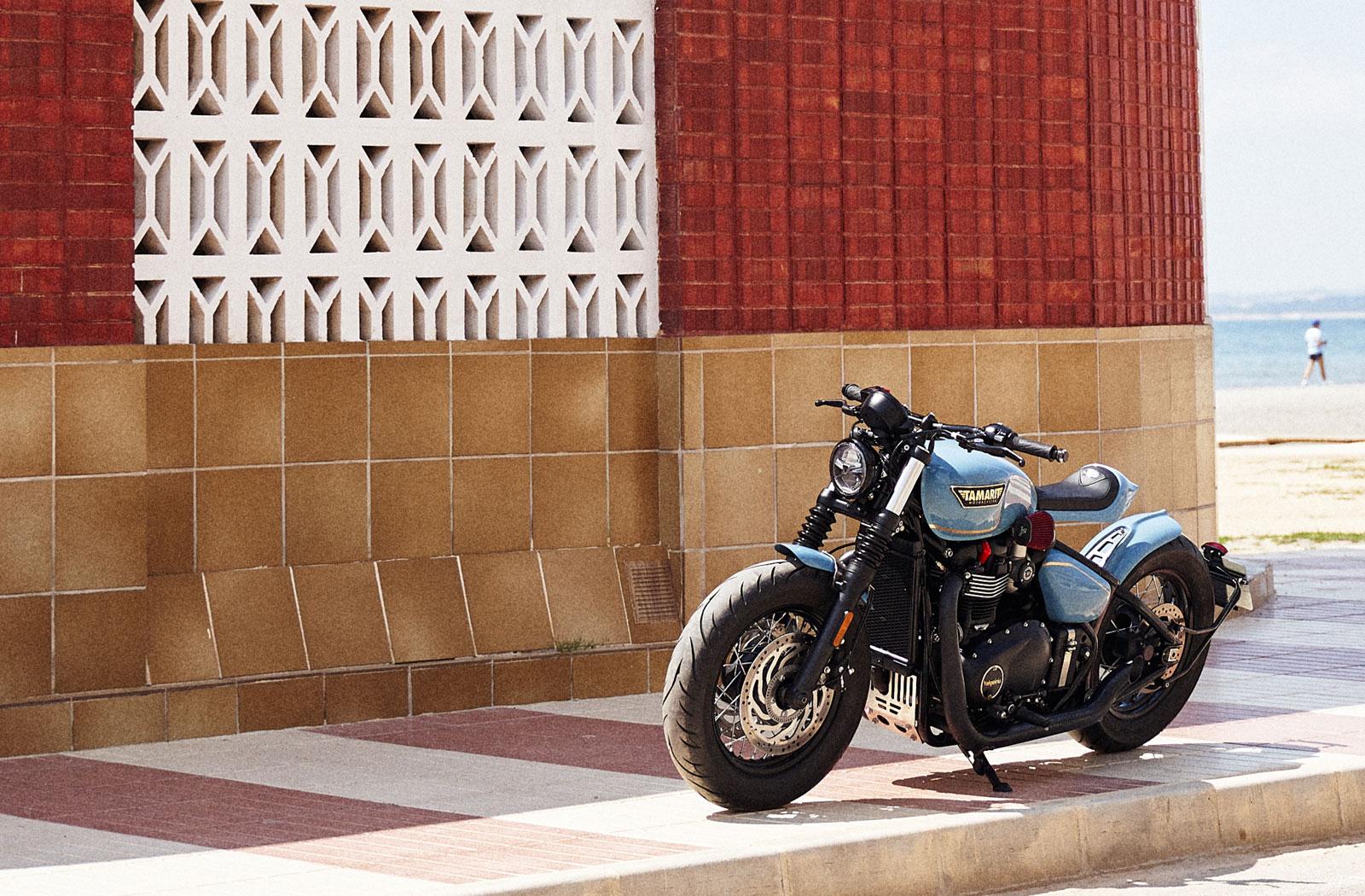 Custom Triumph Bobber