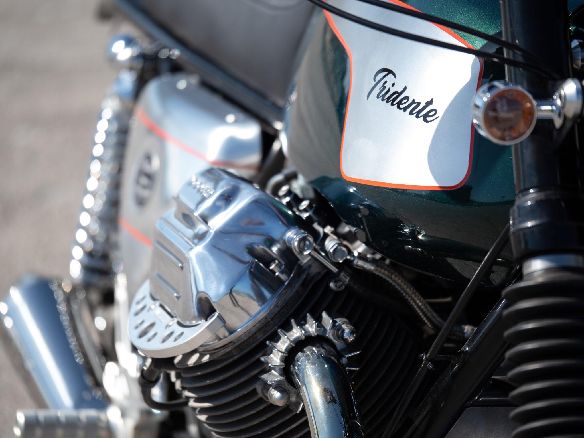 Closeup of the SP1000 Tridente