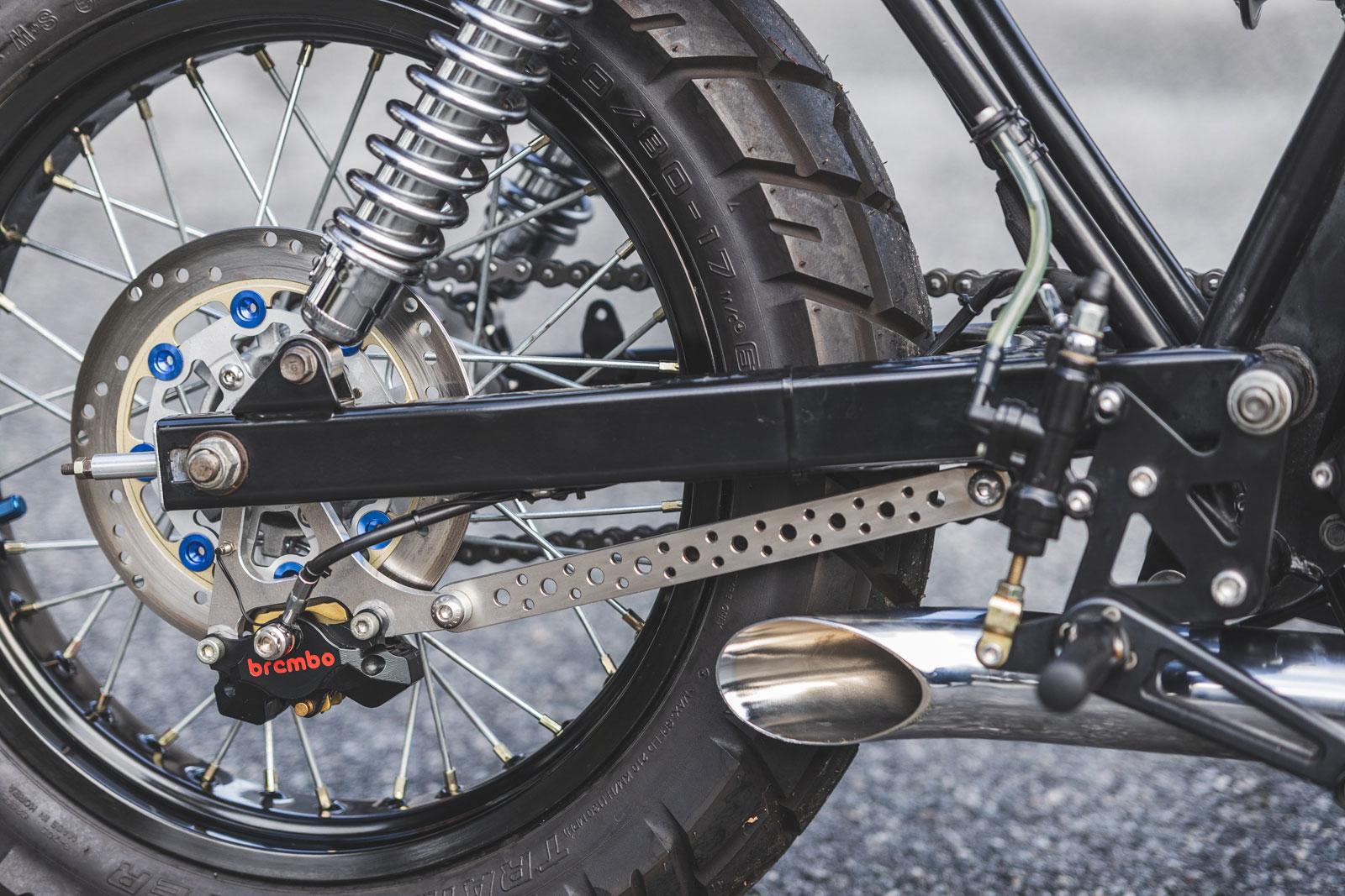 Honda CB250 street scrambler