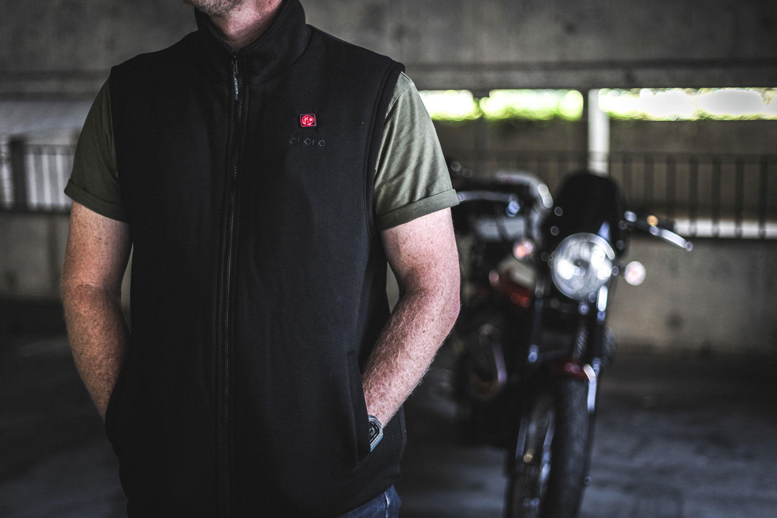 Ororo heated fleece vest