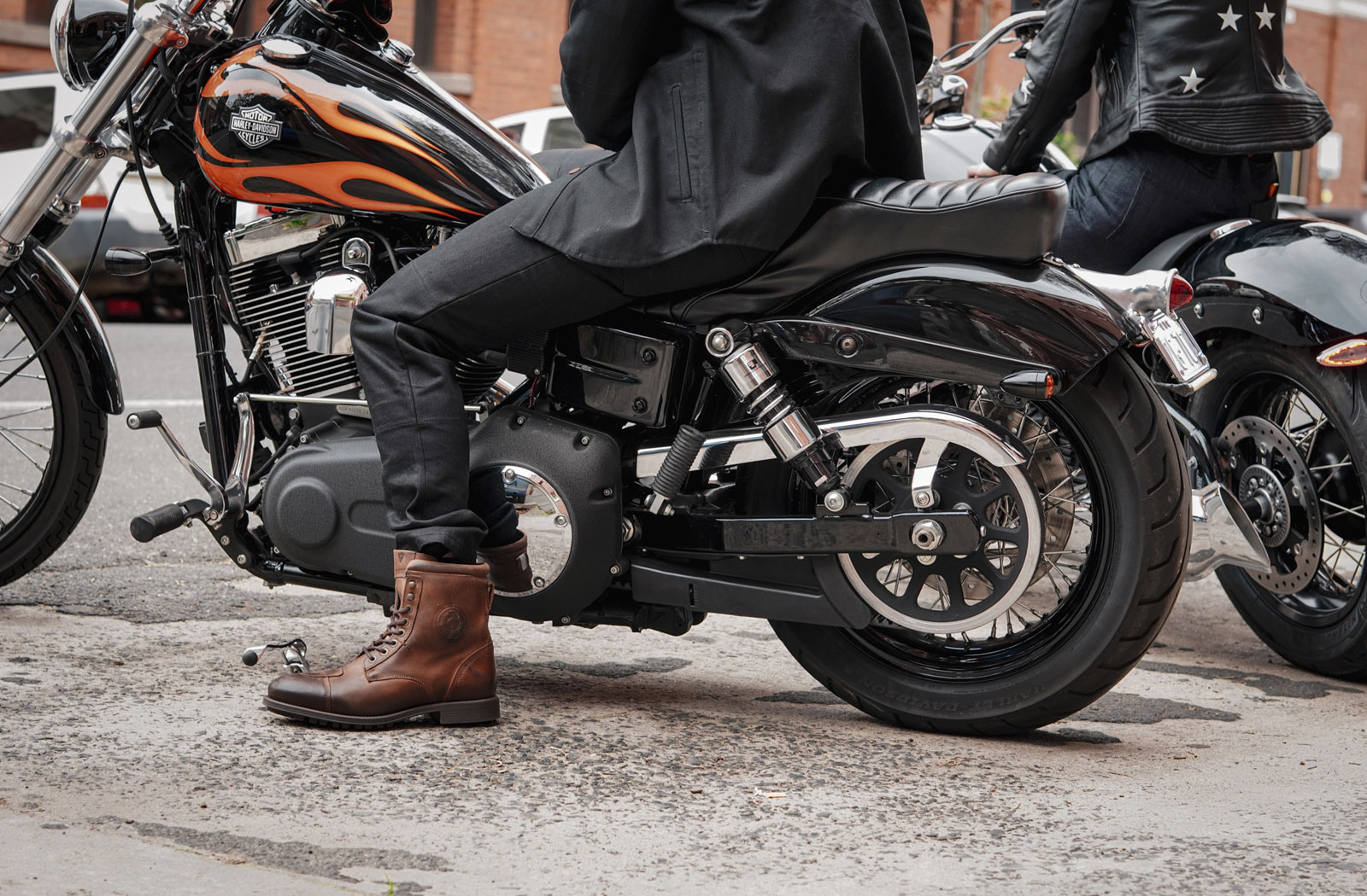 Clutch Moto motorcycle denim