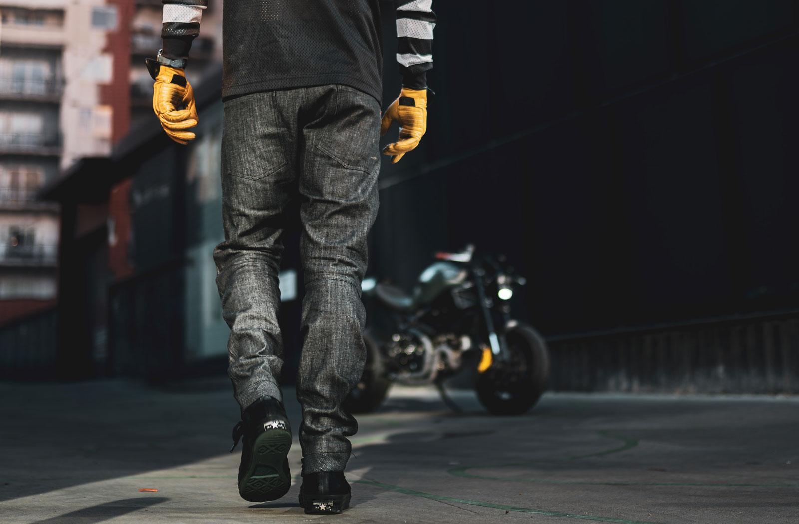 Clutch Moto Tech 110 motorcycle jeans